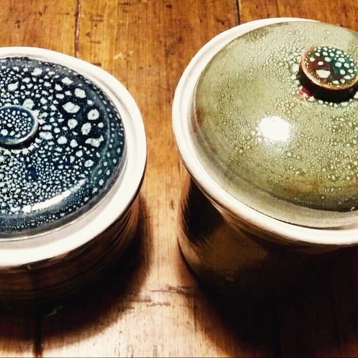 Tarros de cerámica de Laura